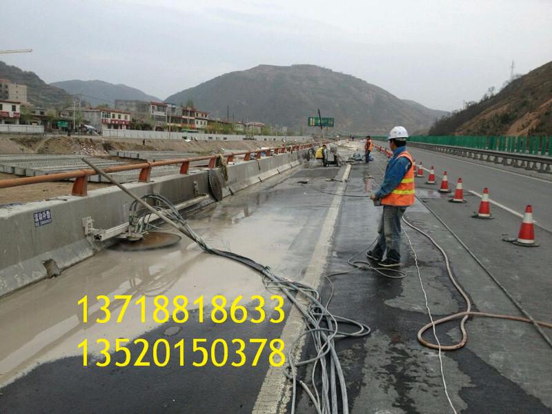 西安新区混凝土切割|桥墩切割|绳锯切割定位线技巧