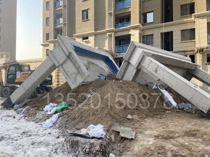 西安老旧小区改造门头阳台静力切割拆除工程案例